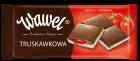 Шоколад Wawel черный с клубничной начинкой Польша 100г