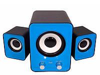 КОЛОНКИ с САБВУФЕРОМ система 2.1 акустика для компьютера ноутбука теле, фото 1