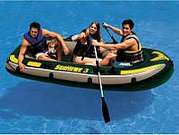 Надувная лодка на 3 человека Seahawk 3 (: 295*137*43 )  ,грузоподьемность 300кг