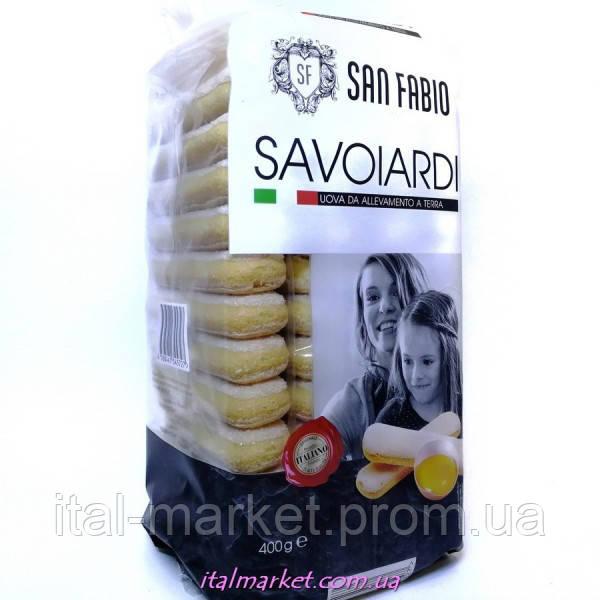 Савоярди палочки Savoiardi 400г, San Fabio