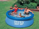 Надувной семейный бассейн Intex  Easy Set 28110 244x76 см, фото 3