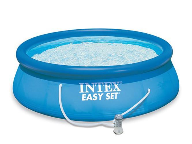 Семейный надувной бассейн Intex 28112 Easy Set 244x76 см