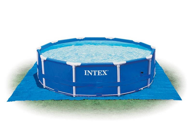 Каркасный бассейн Intex 28202 с насосом(56999) Metal Frame Pool 305x76 см