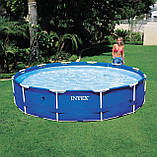 Каркасный бассейн Intex 28202 с насосом(56999) Metal Frame Pool 305x76 см, фото 3
