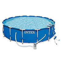 Каркасный круглый бассейн для всей семьи 28236 (54946) Intex 457x122 см