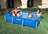 Каркасный прямоугольный бассейн для всей семьи 28271 Intex 260х160х65 см, фото 4