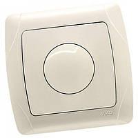 Выключатель диммер светорегулятор поворотный  VIKO CARMEN кремовый