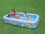 Детский надувной бассейн Подводный мир Intex 58485, фото 2