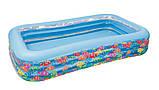 Детский надувной бассейн Подводный мир Intex 58485, фото 3
