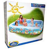 Детский надувной бассейн Подводный мир Intex 58485, фото 5