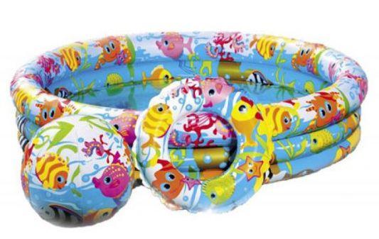 Бассейн Intex 59469 детский с набором 132 х 28 см