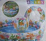 Бассейн Intex 59469 детский с набором 132 х 28 см, фото 3