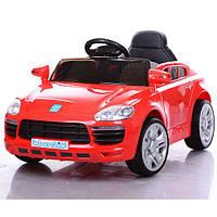 Детский электромобиль  M 3272 EBLR-3: 2.4G, EVA, кожа- Красный - купить оптом