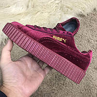 Puma Creeper by Rihanna Velvet Bordo