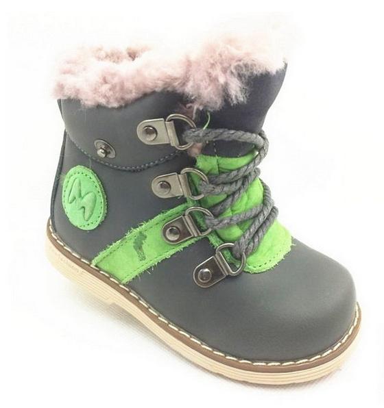 Детские ботинки для мальчика зимние, 22-27