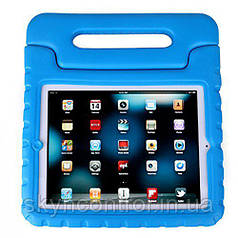 MoKo Kids Shock Proof Convertible Handle Light Weight Super Protective Stand Cover Blue