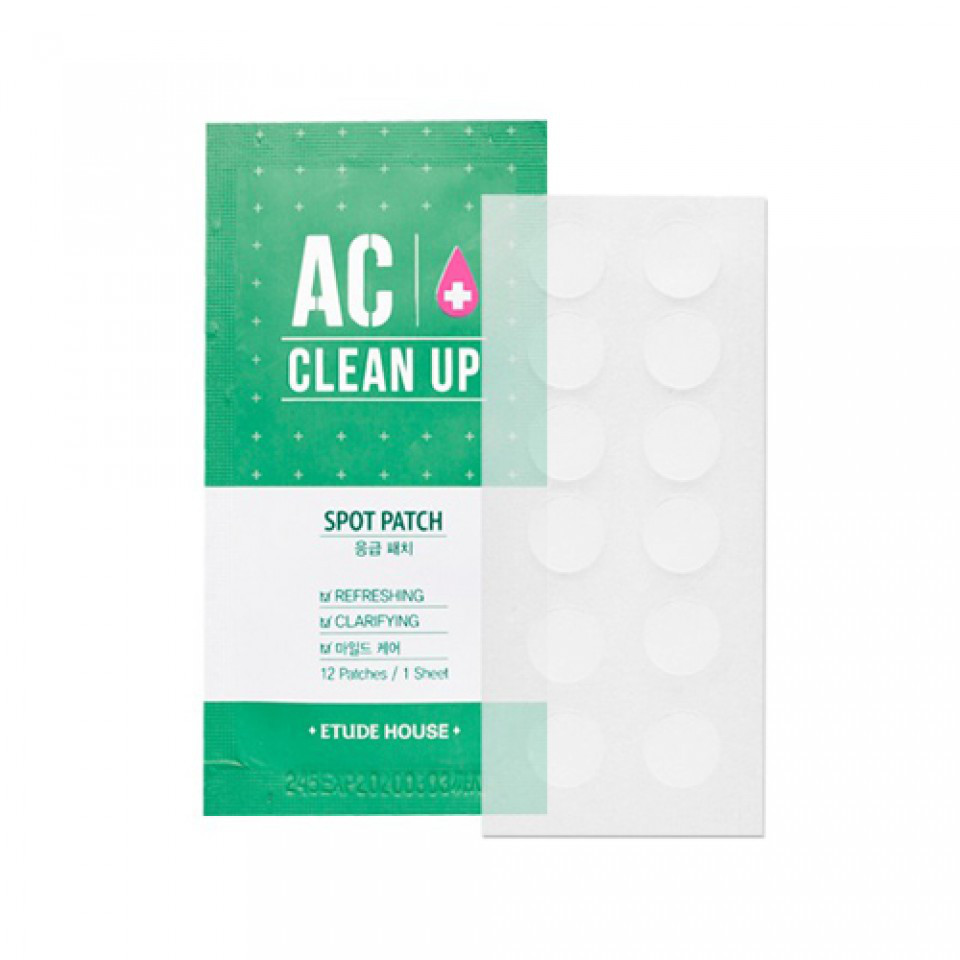 Точечные патчи от прыщей ETUDE HOUSE AC CLEAN UP Spot Patch