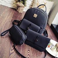 Стильный женский рюкзак 3в1