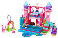 П,  Конструктор Mega Bloks Barbie Мега блокс Барби Подводный замок 419 дет