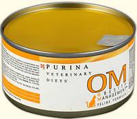Консервы для котов Purina(Пурина)  PVD OM профилактика ожирения 400г