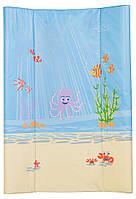 Пеленатор мягкий Ceba Baby CE-102 для пеленальных комодов Osmiorniczka голубой - беж