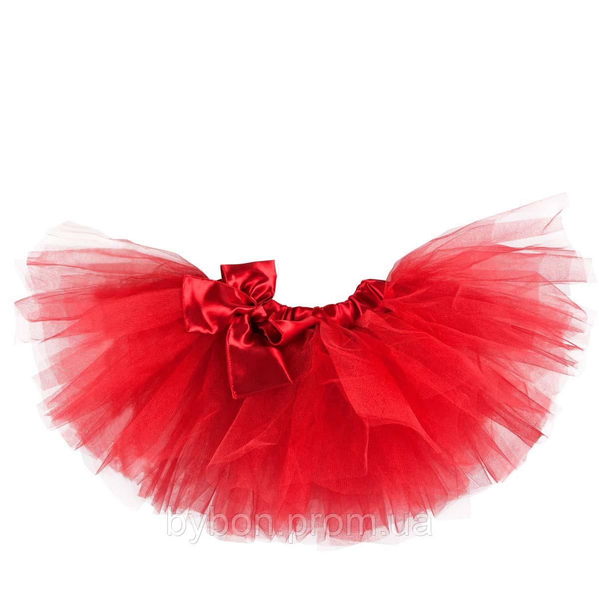 Красная юбка туту 17