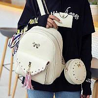 Стильный женский рюкзак 3в1 4 цвета