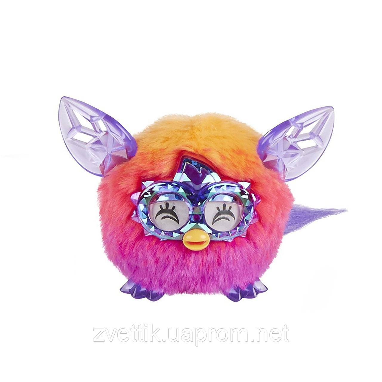 Интерактивный детеныш Furby Furblings Crystal Orange to Pink Фёрблинг Оранжево-Розовый Кристалл