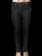 Женские джинсы узкие 9576 чёрные