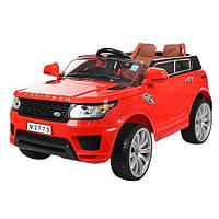 Детский электромобиль Land Rover M 2775 EBLR-3: EVA-колеса - КРАСНЫЙ - купить оптом