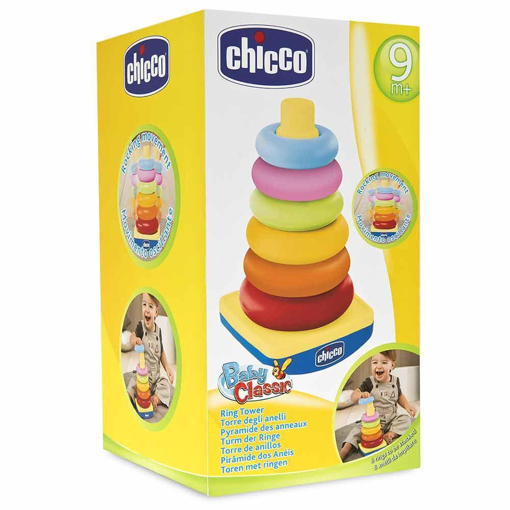 """Игрушка-пазл """"Башня"""", Chicco"""