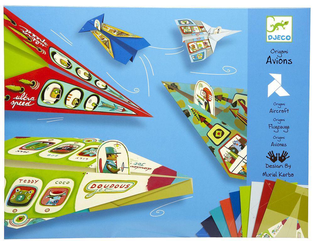 DJECO Художній комплект орігамі Літаки