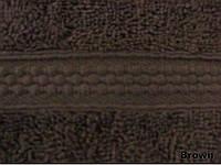 Полотенце однотонное Arya Miranda коричневое