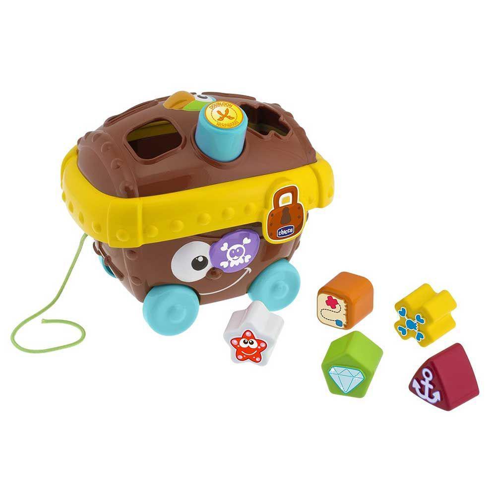 """Іграшка з формочками Chicco """"Скарби піратів"""""""