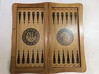 Нарды, шахматы 47 х 47 см бамбук