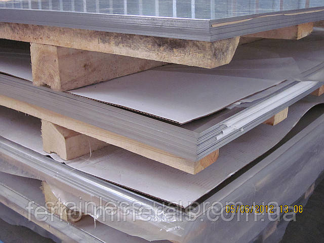 Нержавеющий лист 1,2х1250х2500мм, AISI 430 (12X17),ВA+РІ