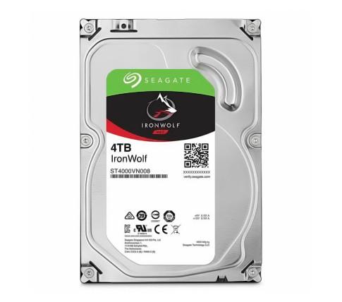 Жесткий диск для компьютера 4 Тб Seagate IronWolf, SATA 3, 64Mb, 5900