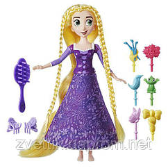 П, Кукла Tangled Spin Style Rapunzel Принцесса Рапунцель играй с волосами Disney
