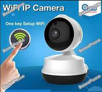 Поворотная Wi Fi IP-камера видео наблюдения. Внутрення камера.