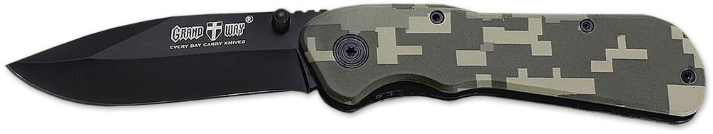 Нож складной E-26 с убирающимся клинком в рукоятку MHR /08-4