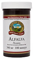 Люцерна (Alfalfa) NSP - Снижает уровень холестерина в крови.