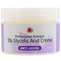 Reviva Labs, Крем с 5%-ной гликолевой кислотой, 42 г, 5% Glycolic Acid Cream, Anti Aging