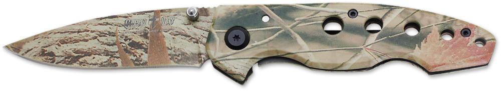 Нож складной E-30 с убирающимся клинком в рукоятку MHR /08-4