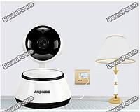 Поворотная Wi-Fi IP видеокамера Anpwoo , Радио няня, видеонаблюдение.