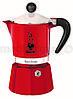 Гейзерная кофеварка BIALETTI Rainbow 1 TZ Red