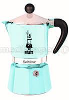 Гейзерная кофеварка BIALETTI Rainbow 6 TZ Jasnoblue