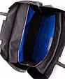 Женская сумка из кожи #22 POOLPARTY leather-number-22-black, фото 3