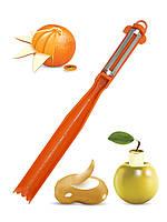 Нож-овощечистка с круглой ручкой Borner Бернер Германия Оригинал 100%!
