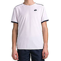 Теннисная футболка LOTTO AYDEX IV TEE B wht/nvy