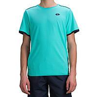 Теннисная футболка LOTTO AYDEX IV TEE B grn tha/wht